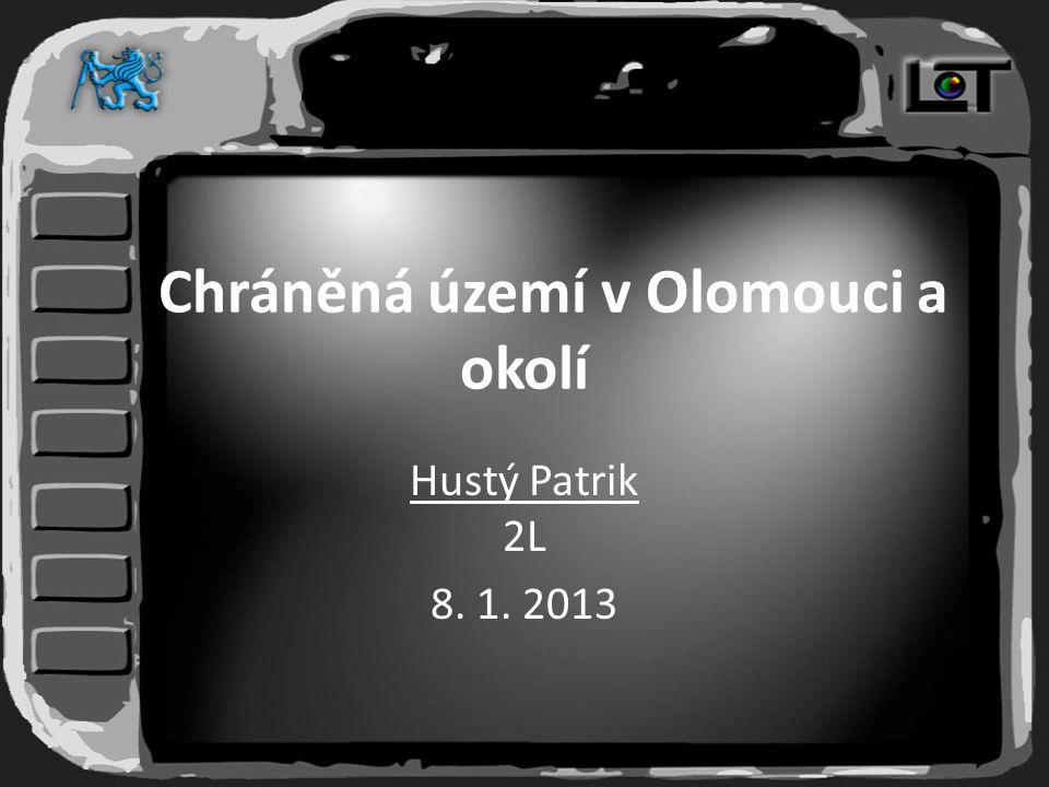 Chráněná území v Olomouci a okolí Hustý Patrik 2L 8. 1. 2013