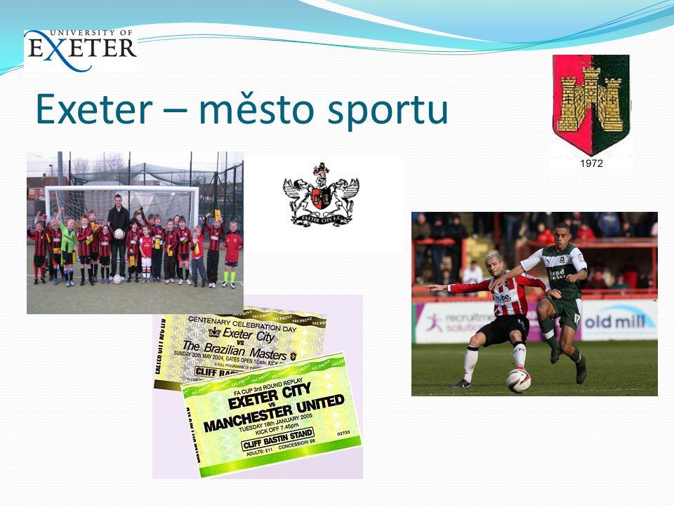 Exeter – město sportu