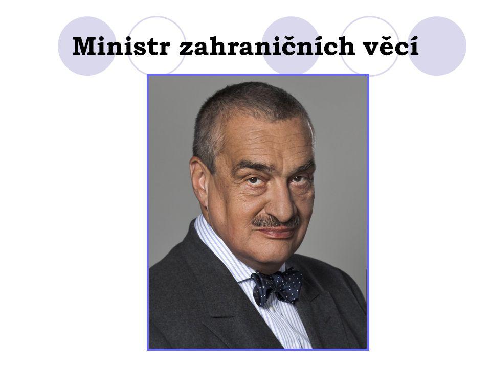 Ministr zahraničních věcí