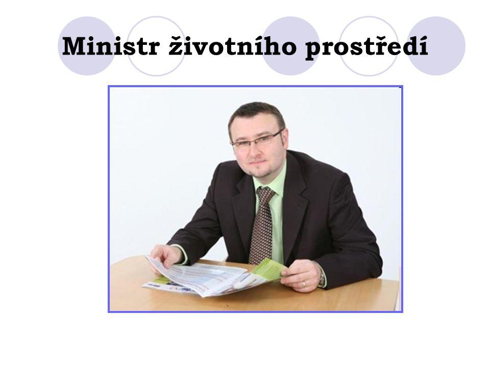 Ministr životního prostředí