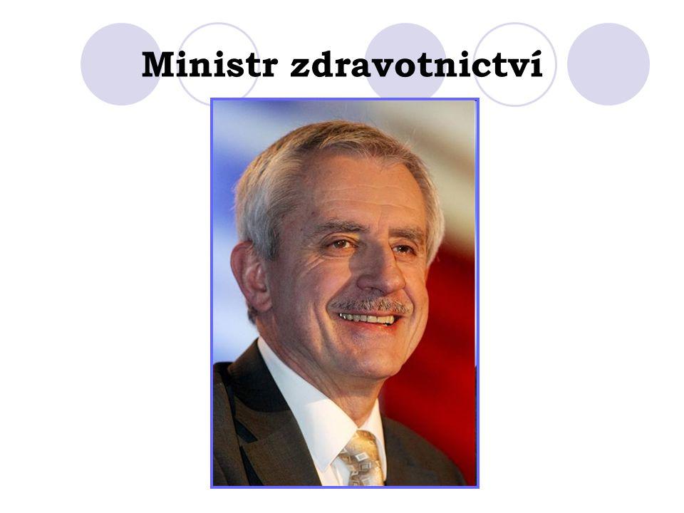 Ministr zdravotnictví