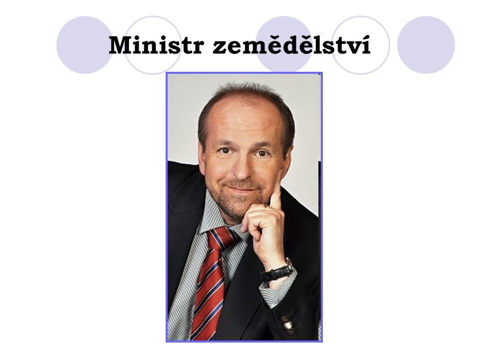 Ministr zemědělství