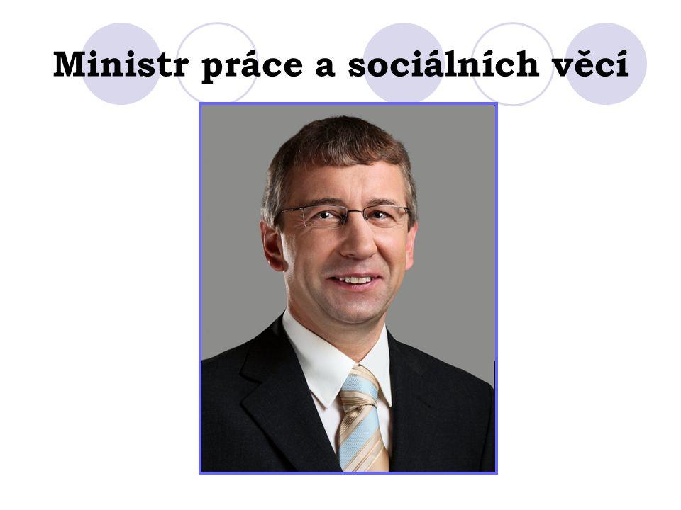 Ministr práce a sociálních věcí