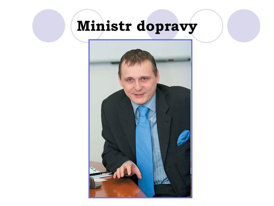 Ministr dopravy