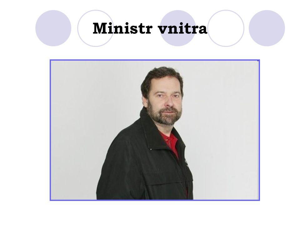 Ministr vnitra