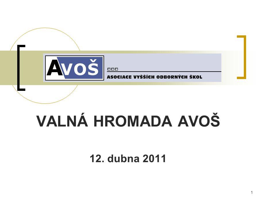 1 VALNÁ HROMADA AVOŠ 12. dubna 2011