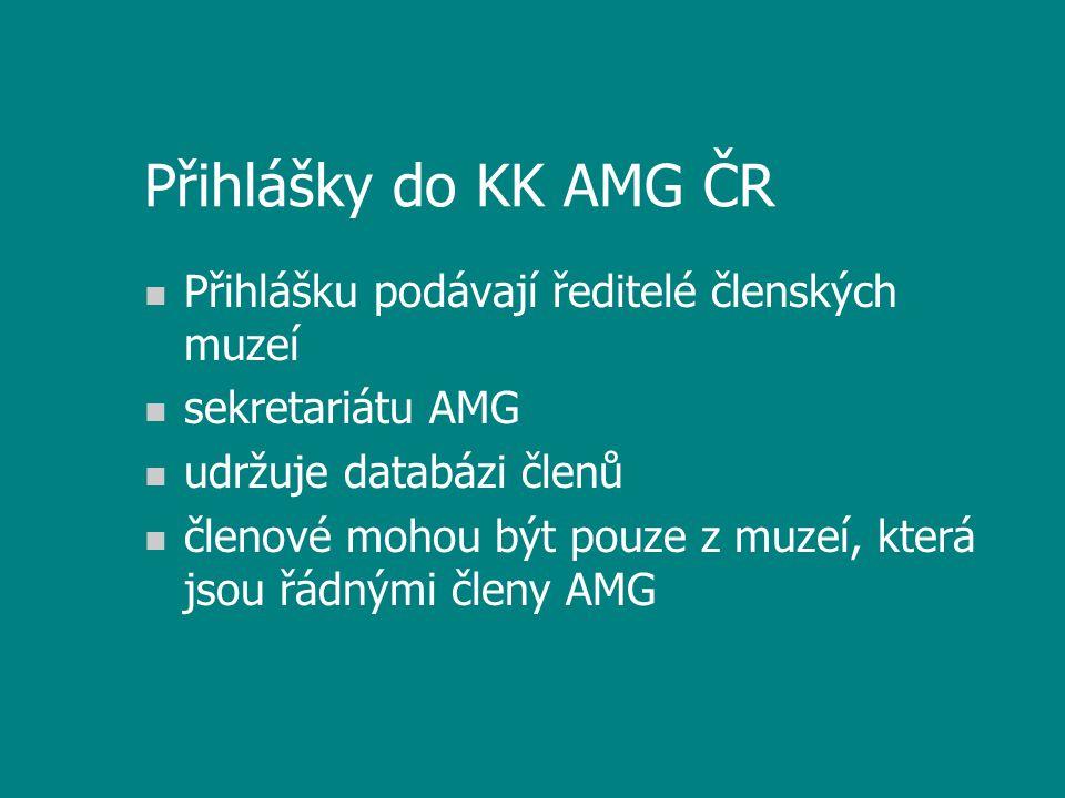 Plán práce KK AMG n příprava semináře na příští rok n konečná verze adresáře n spolupráce mezi muzejními knihovnami n spolupráce s ostatními knihovnami (granty, konzorcia, virtuální katalagy atd.) n plnění vládního usnesení o rozvoji knihoven
