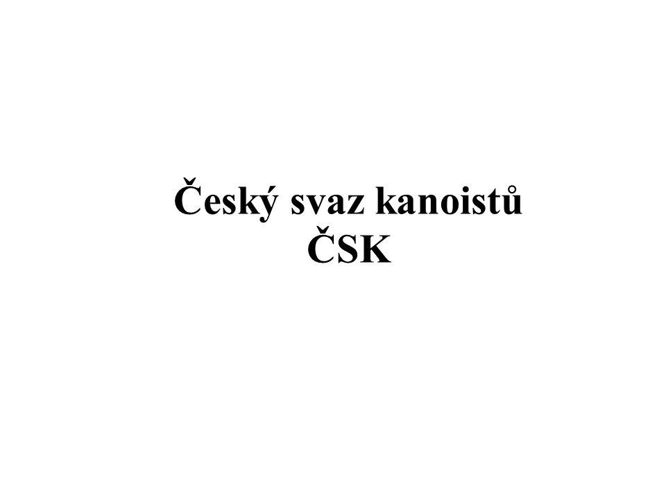 Český svaz kanoistů ČSK