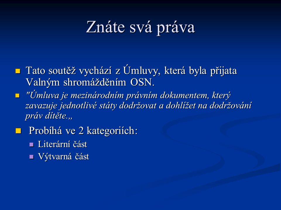 Literární Ústí Témata této soutěže se týkají našeho města nebo různých výročí v něm.