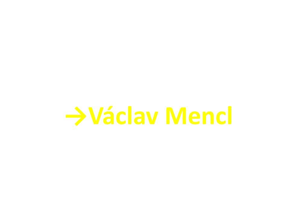 →Václav Mencl