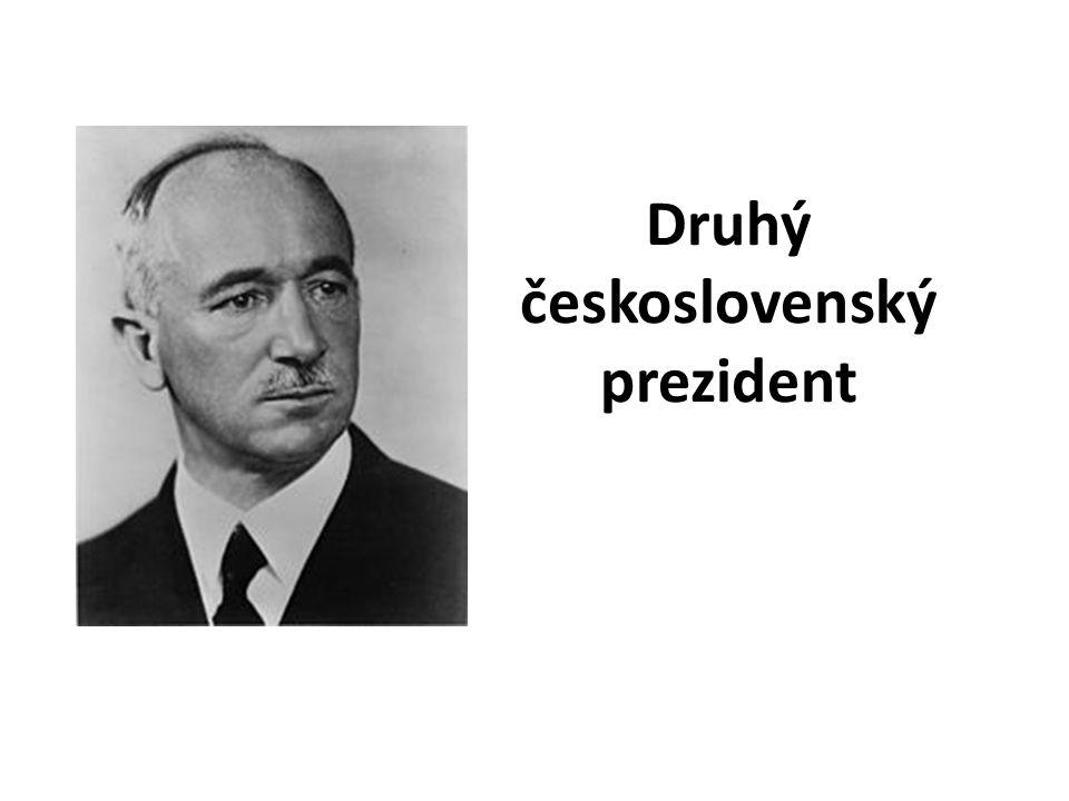 Druhý československý prezident