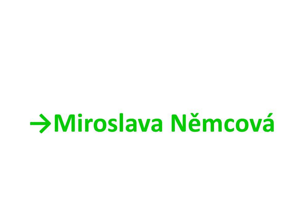 →Miroslava Němcová