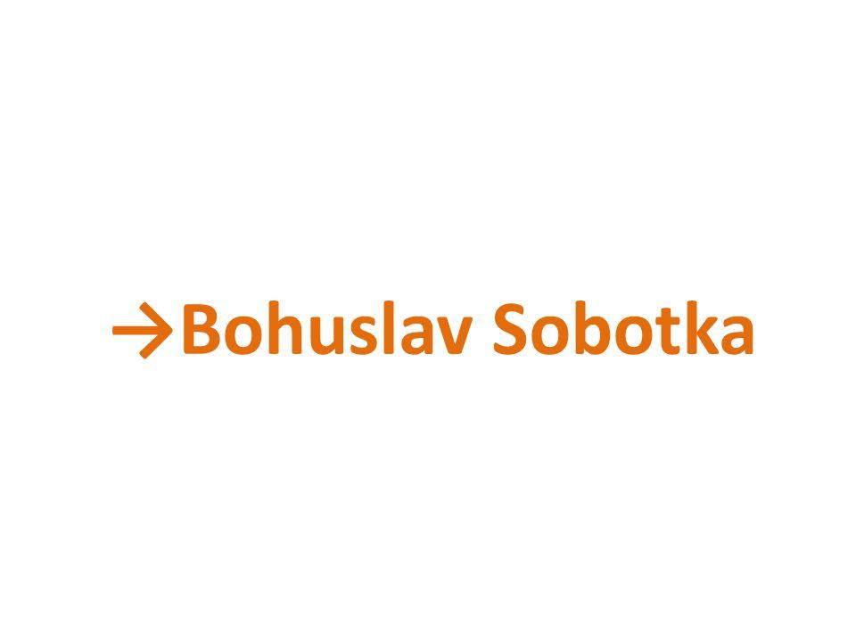 →Bohuslav Sobotka
