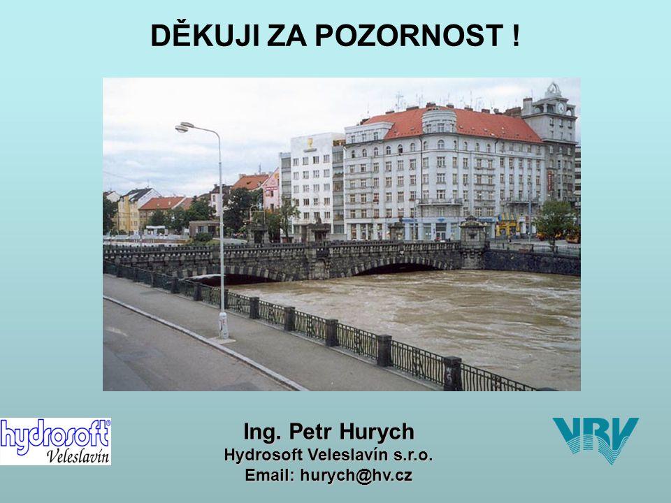 DIGITÁLNÍ POVODŇOVÉ PLÁNY (dPP) ÚVODNÍ INFORMACE Plzeň 14.7.2011 strana 20 DĚKUJI ZA POZORNOST .
