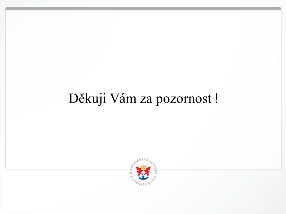13 HK ČR, 12.4.2015 Děkuji Vám za pozornost !