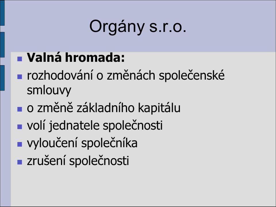 Orgány s.r.o.