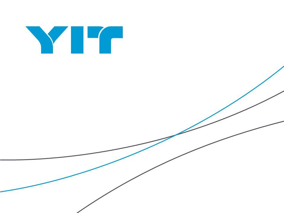 YIT | 2 Program: 1.Tom Sandvik (YIT Group) - představení skupiny YIT 2.