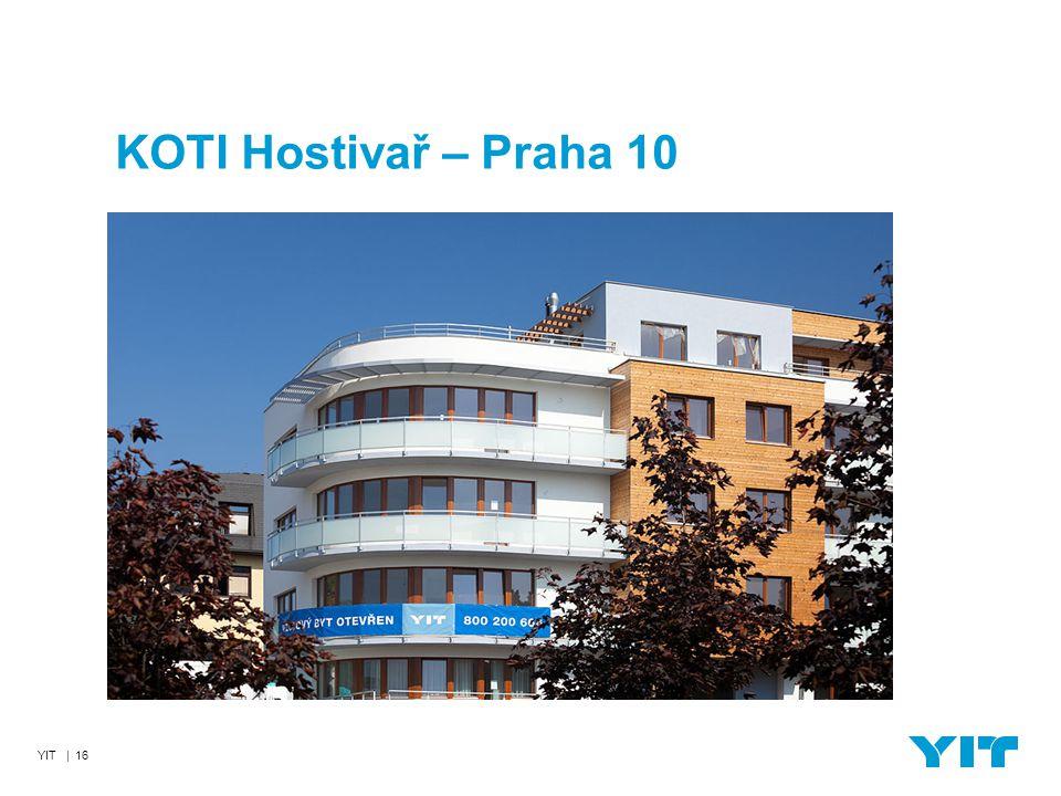 YIT | 16 KOTI Hostivař – Praha 10