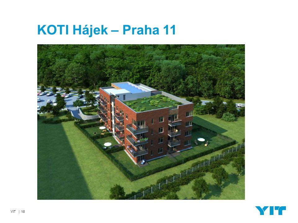 YIT | 18 KOTI Hájek – Praha 11
