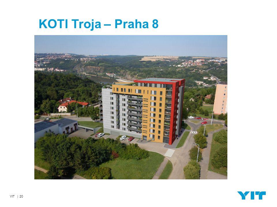 YIT | 20 KOTI Troja – Praha 8