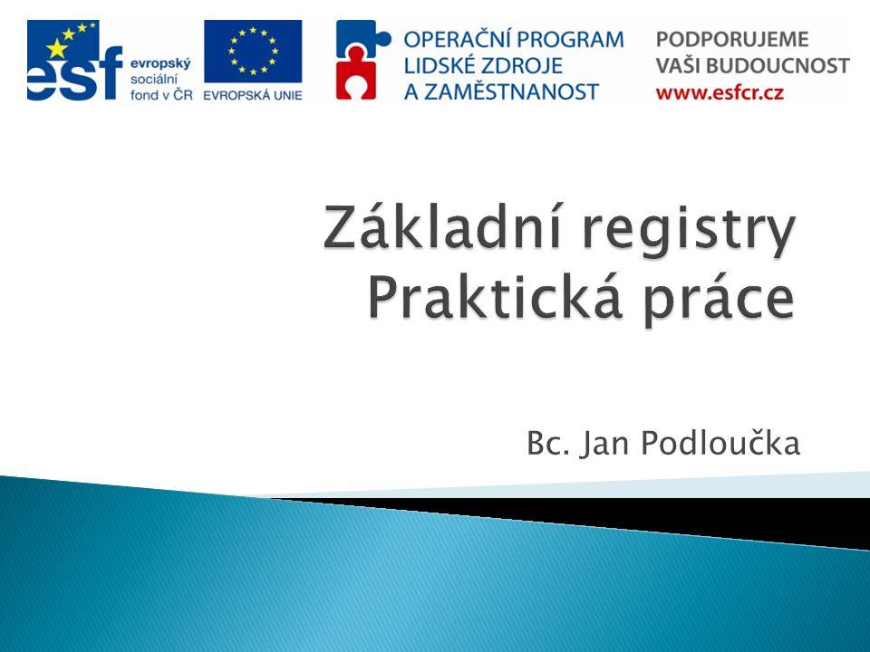 Bc. Jan Podloučka