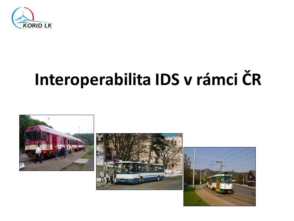 Interoperabilita IDS v rámci ČR
