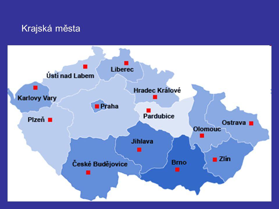 Krajská města
