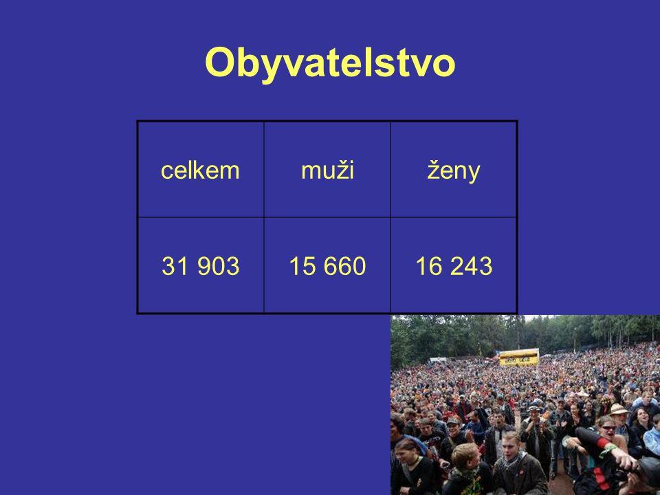 Obyvatelstvo celkemmužiženy 31 90315 66016 243