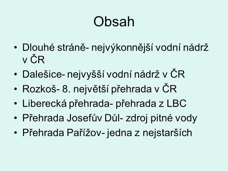 Josefův Důl Přehrada Josefův Důl:Přehrada se nachází v severních Čechách, v Jizerských horách, v obci Josefův Důl.