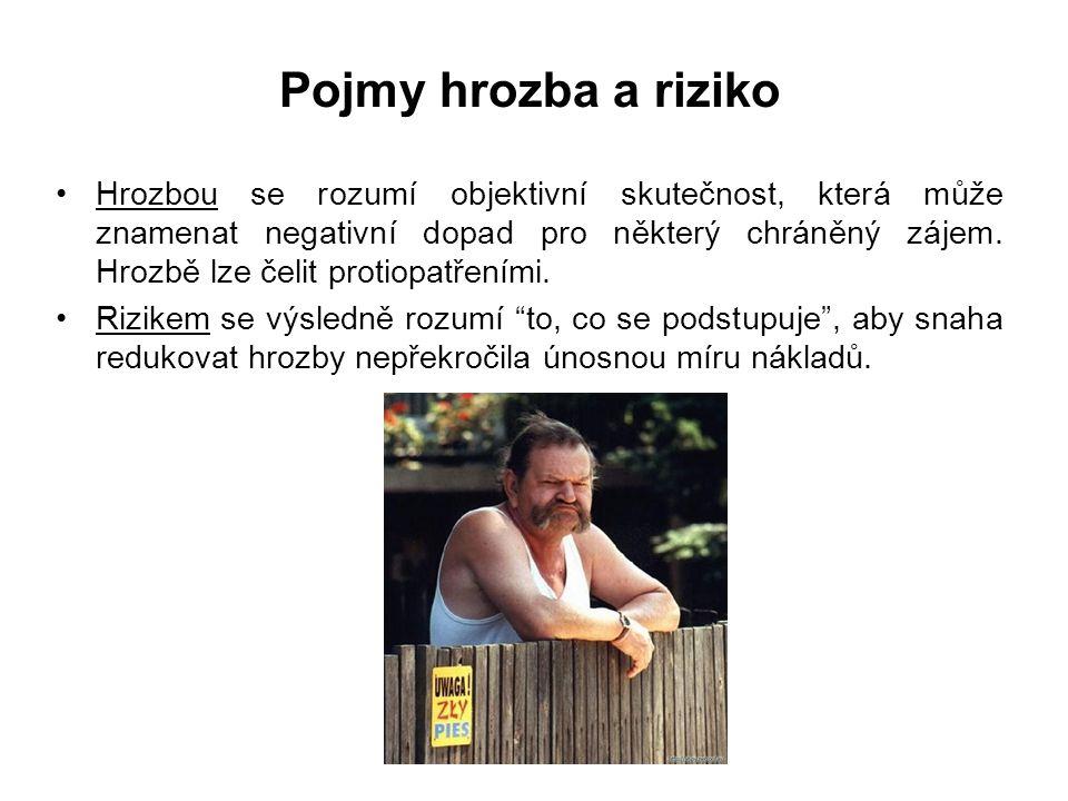 Bezpečnostní strategie České republiky II Základní dokument, vztahující se k tématu zajišťování bezpečnosti České republiky.