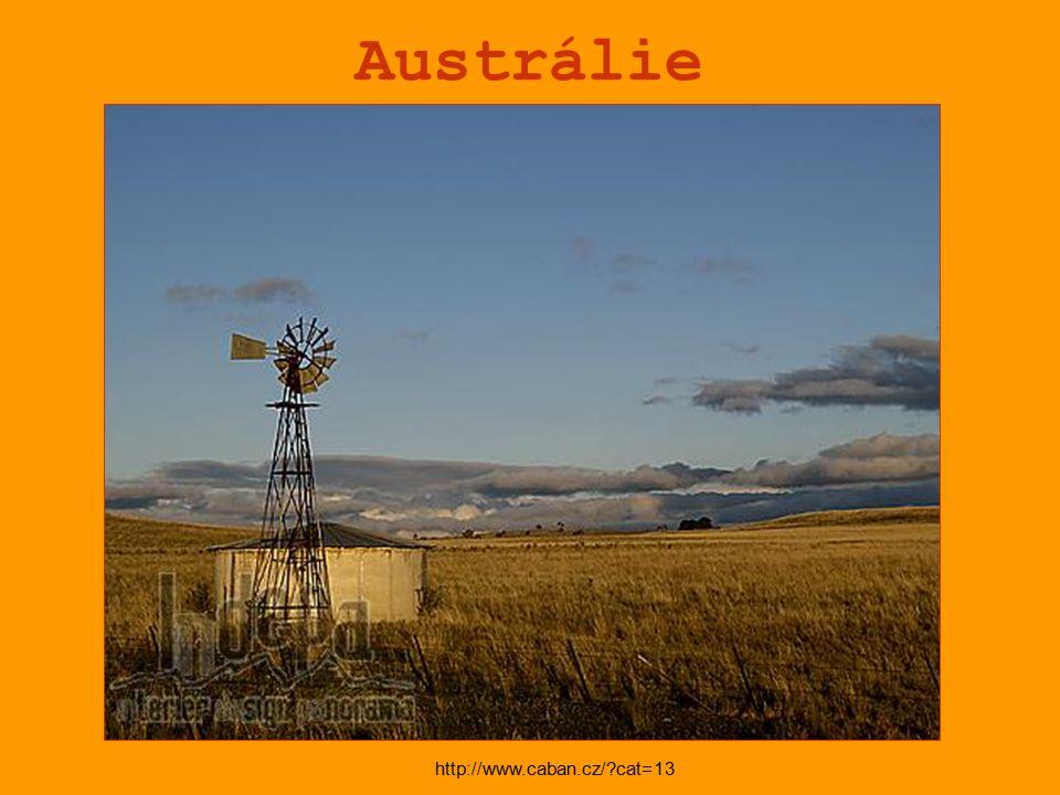 Austrálie http://www.caban.cz/?cat=13