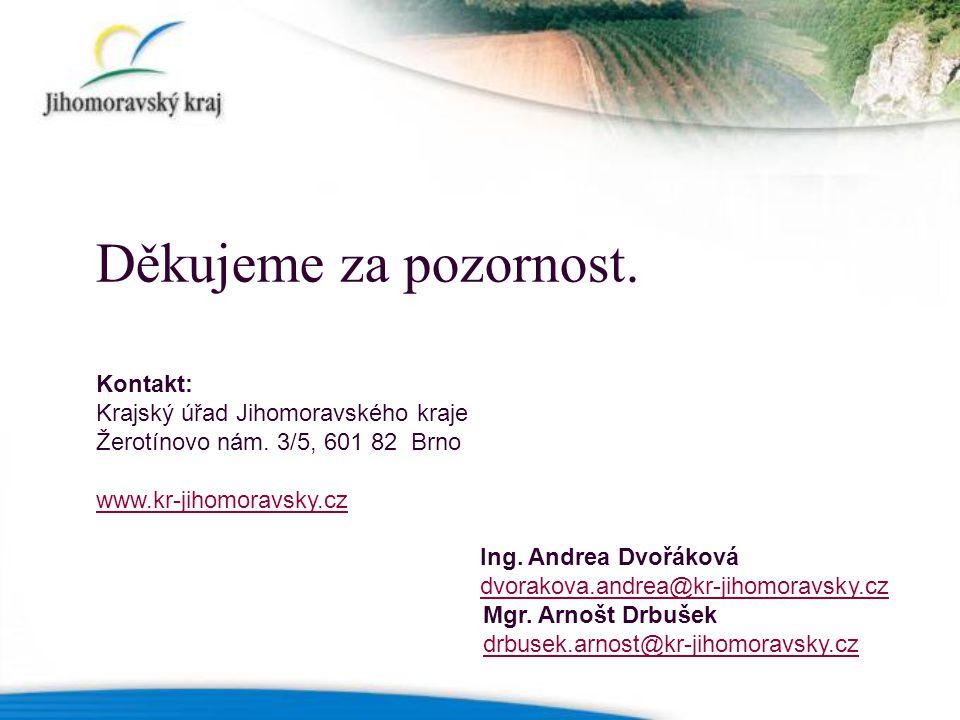 Kontakt: Krajský úřad Jihomoravského kraje Žerotínovo nám.