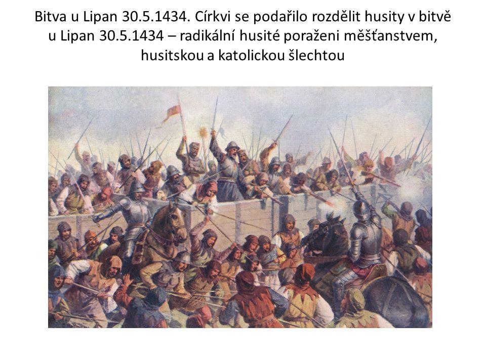 Bitva u Lipan 30.5.1434.