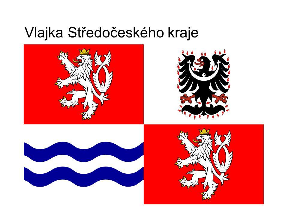 Vlajka Středočeského kraje