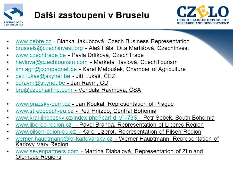 Středočeské zastoupení Podpora kvalitní správy regionu Zastoupení v Bruselu usnadní také intenzivní výměnu informací mezi regiony o možnostech zefektivňování veřejné správy.