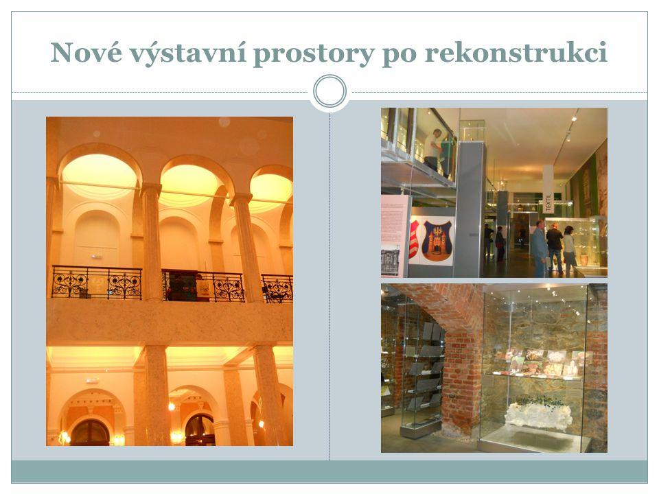 Nové výstavní prostory po rekonstrukci