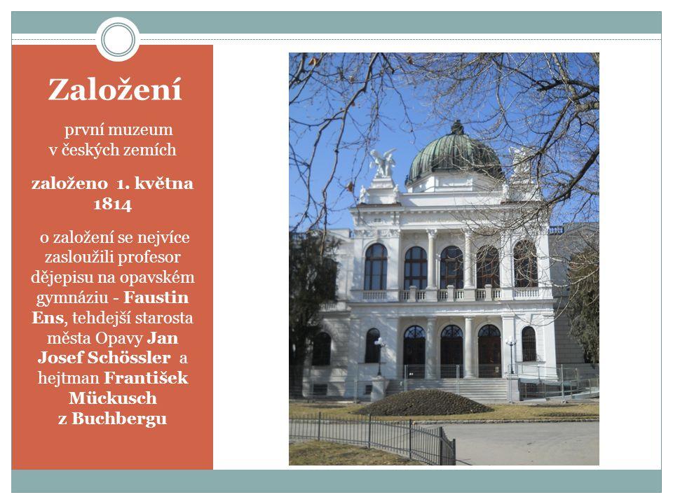 Založení  první muzeum v českých zemích založeno 1.