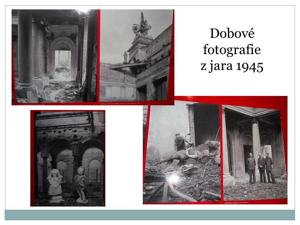 Dobové fotografie z jara 1945