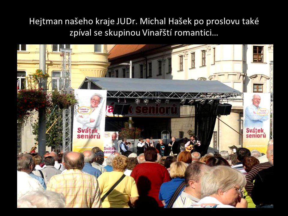 Vinařští romantici se Zdeňkem Junákem a Jiřím Helánem jejich vystoupení