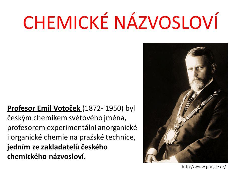 Profesor Emil Votoček (1872- 1950) byl českým chemikem světového jména, profesorem experimentální anorganické i organické chemie na pražské technice,