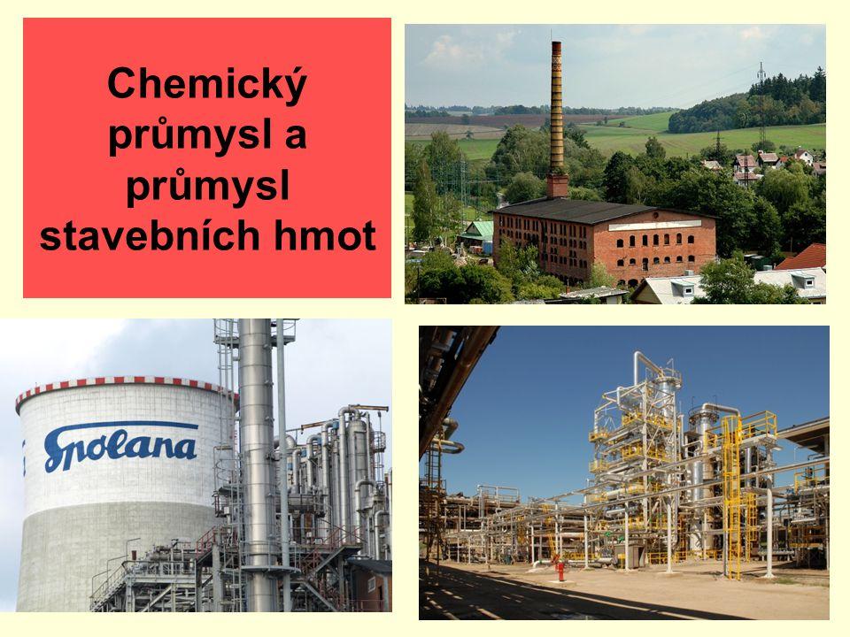 Obsah 1. Chemický průmysl 2. Průmysl stavebních hmot 3. Otázky a úkoly