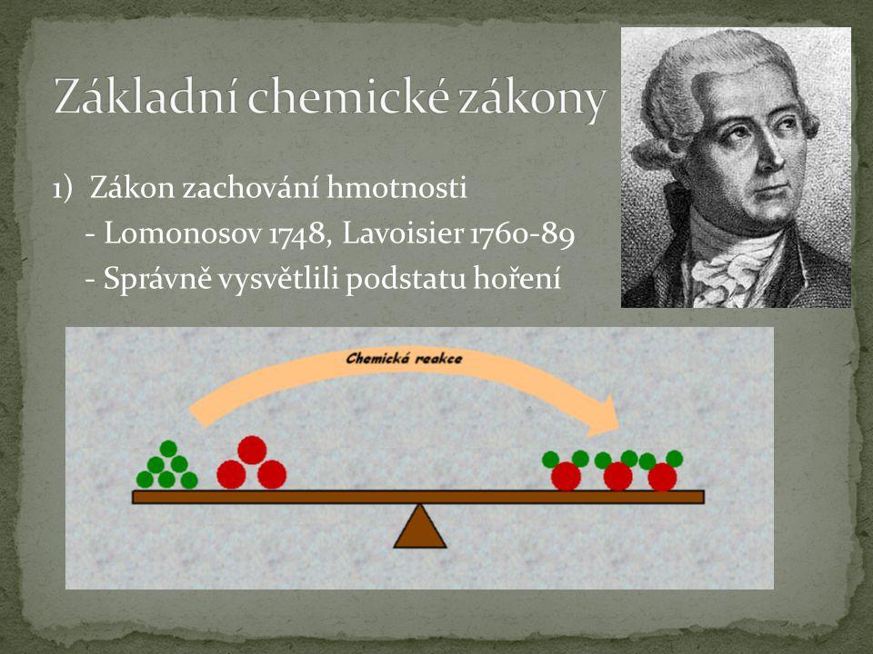 Obrovský rozvoj - organické chemie - fyzikální chemie - chemické výroby Objev rentgenového záření a radioaktivity Rozvoj nových chemických disciplín např.