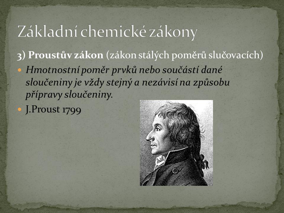 2) Zákon zachování energie - Lomonosov 1748, Mayer 1842 a další