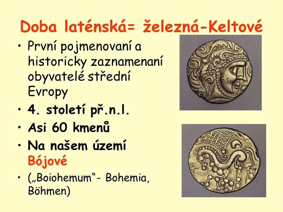 Území dnešní České republiky 4. stol. př.n.l. – 7. stol. n.l.