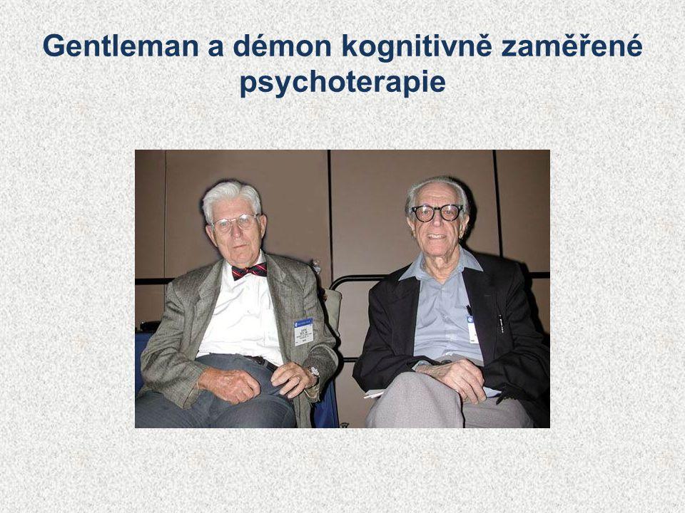 Gentleman a démon kognitivně zaměřené psychoterapie