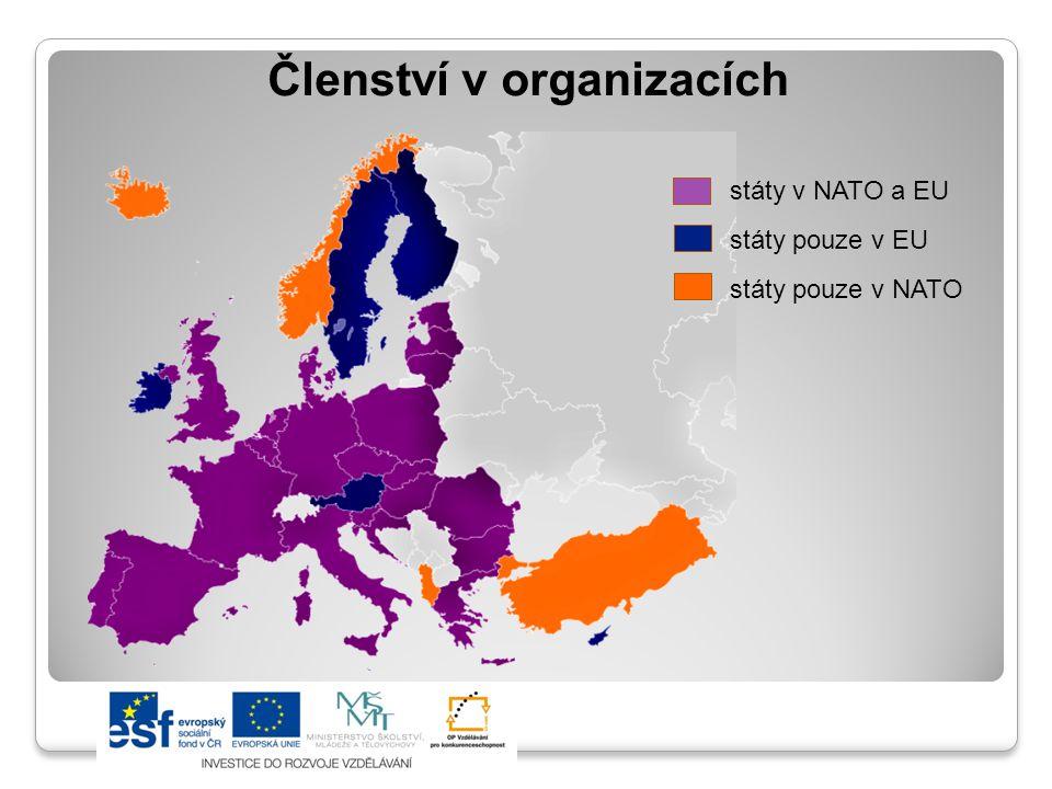 ČR a Evropská unie ČR je členem od r.2004 Zařadila se tak mezi vyspělé demokratické státy Evropy.