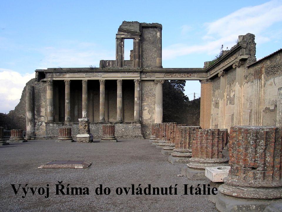 Vývoj Říma do ovládnutí Itálie