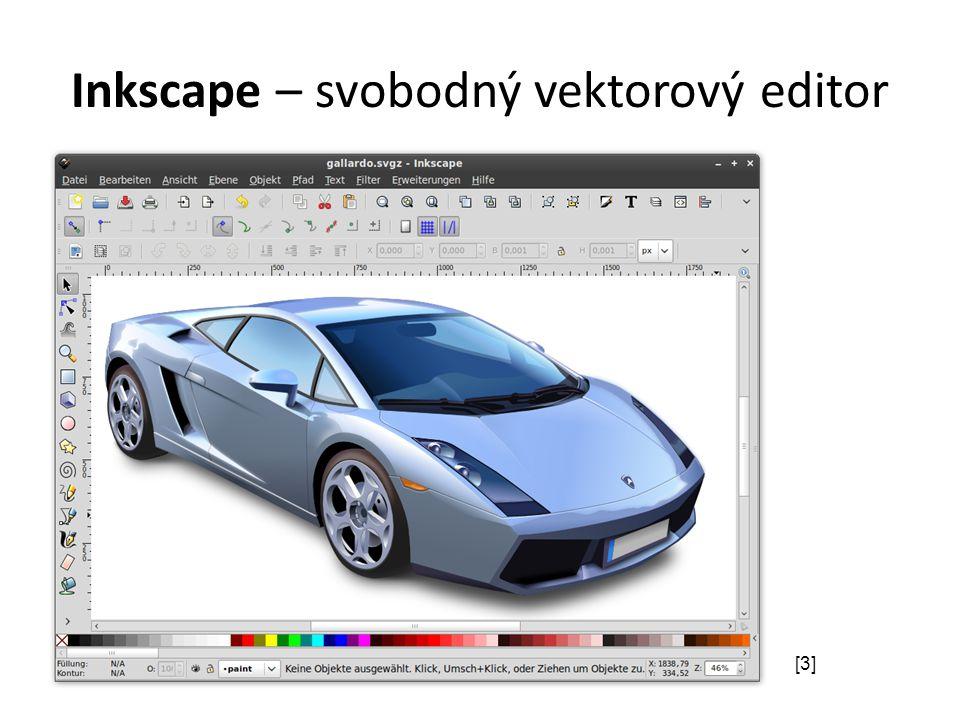 Inkscape – svobodný vektorový editor [3]