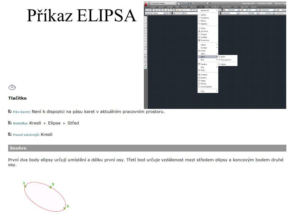 Příkaz ELIPSA