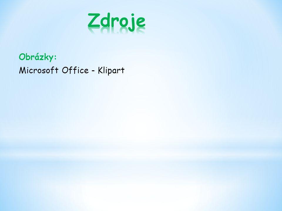 Obrázky: Microsoft Office - Klipart